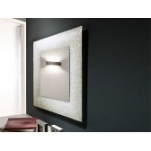 Contemporary Designer Mirror - Ice